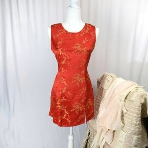 Dresses & Skirts - ~Vintage~ Cherry Blossom Sheath Floral Dress